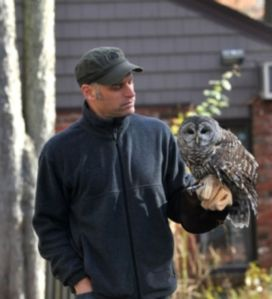 The Raptor Trust Director Chris Soucy. Photo Credit: NewJerseyHills.com.