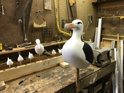 Albatross decoy