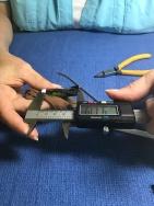 Measuring wing chord